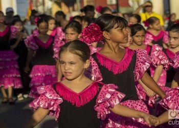 Academia Infantil de Danza Española en la XXIV Fiesta de la Cultura Iberoamericana. Foto: Frank Lahera Ocallaghan.
