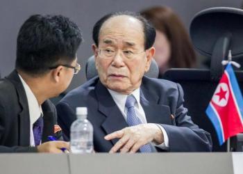 Kim-Yong-Nam. Foto: Miguel Gutierrez/EPA.