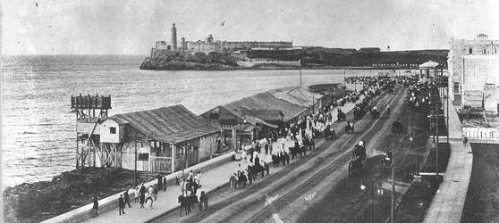 Malecón habanero 1902.