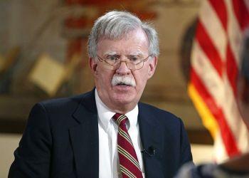 El asesor de Seguridad Nacional estadounidense John Bolton. Foto: Emily Michot / Miami Herald vía AP / Archivo.