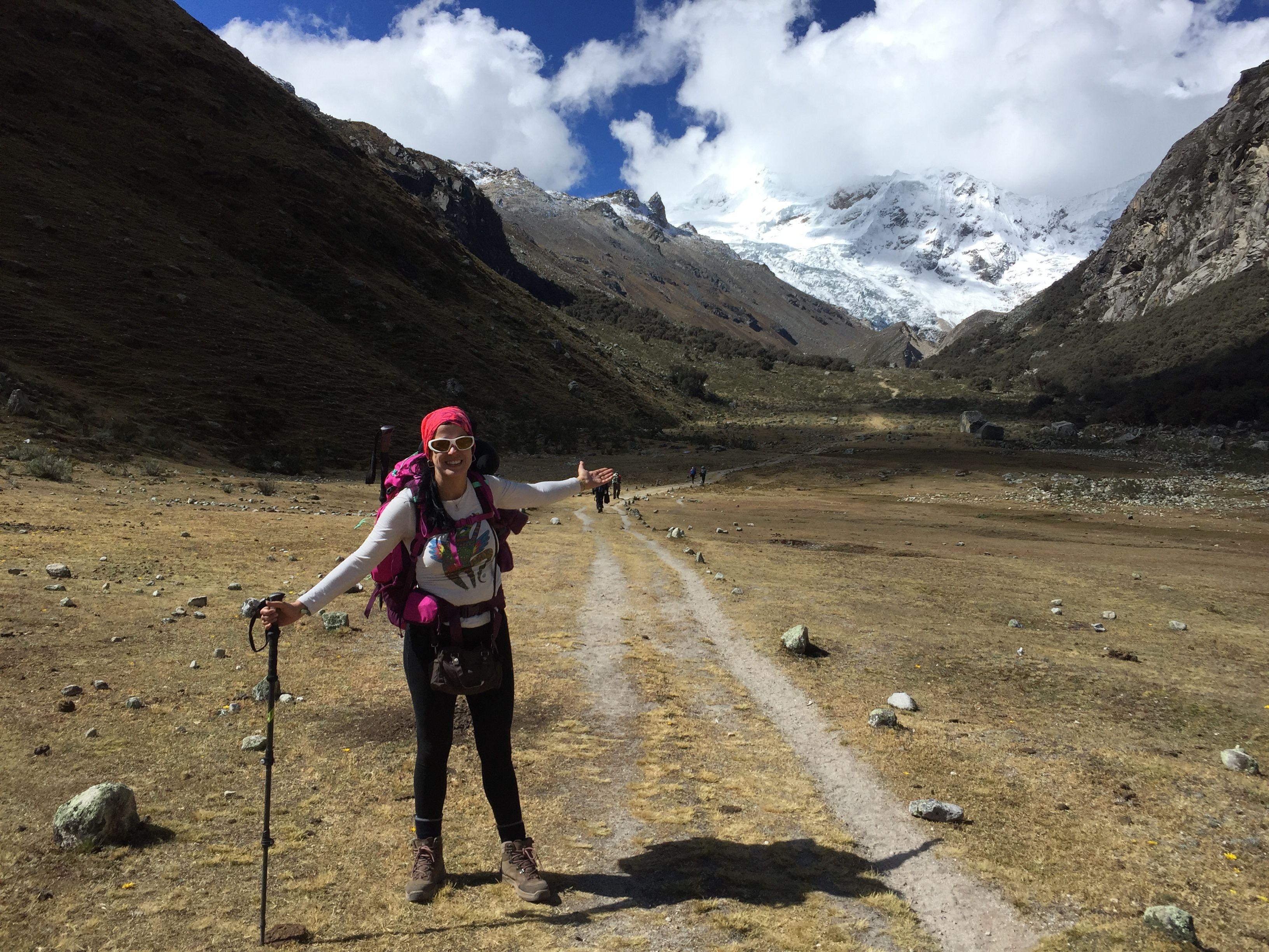 Julio 2018. Cordillera Blanca, Huaraz, Perú.