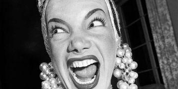Carmen Miranda. Foto: Archivo.