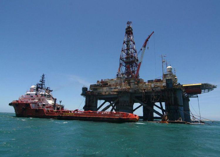 Plataforma petrolera en el Golfo de México. Foto: heraldodemexico.com.mx