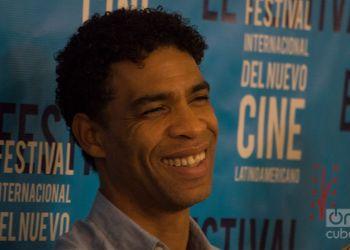 """Carlos Acosta en el Festival Internacional del Nuevo Cine Latinoamericano de La Habana, donde fue presentado su filme autobiográfico """"Yuli"""". Foto: Otmaro Rodríguez."""
