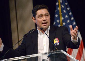 Carlos Vecchio. Foto tomada de Tenemos Noticias.