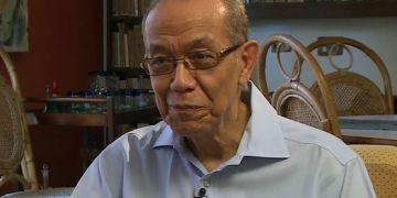El escritor cubano Eduardo Heras León. Foto: rt.com / Archivo.