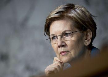 Elizabeth Warren. Foto: Andrew Harrer/Bloomberg.