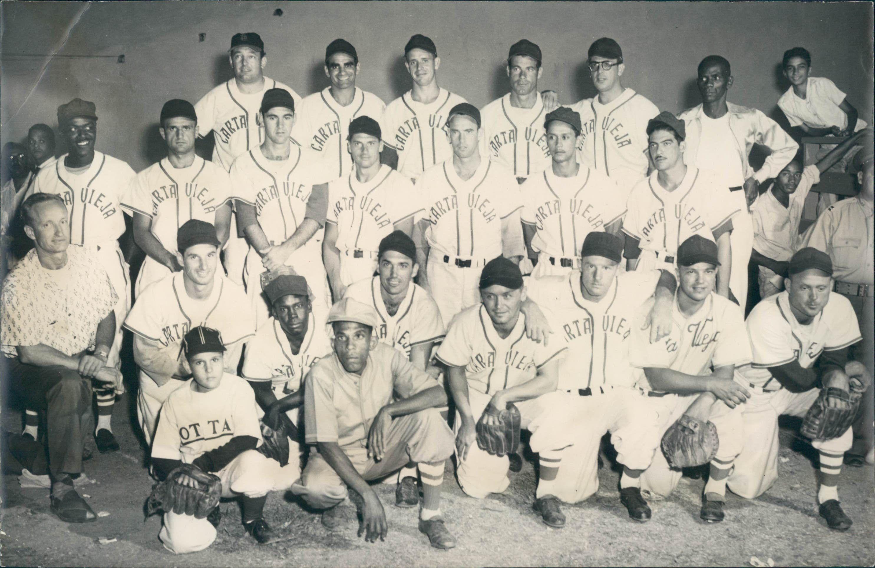 El Carta Vieja de Panamá fue uno de los equipos más activos en la primera etapa de la Serie del Caribe. Archivo