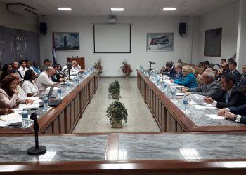 Primera sesión de la reunión bilateral entre Cuba y la Comisión Económica Euroasiática (CEE), el 6 de febrero de 2019 en La Habana. Foto: @IMordoche / Twitter.