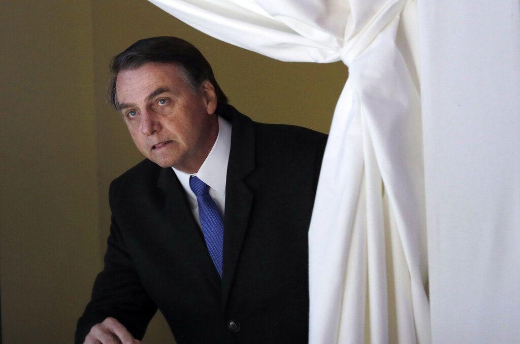 El presidente de Brasil Jair Bolsonaro. Foto: Markus Schreiber / AP / Archivo.