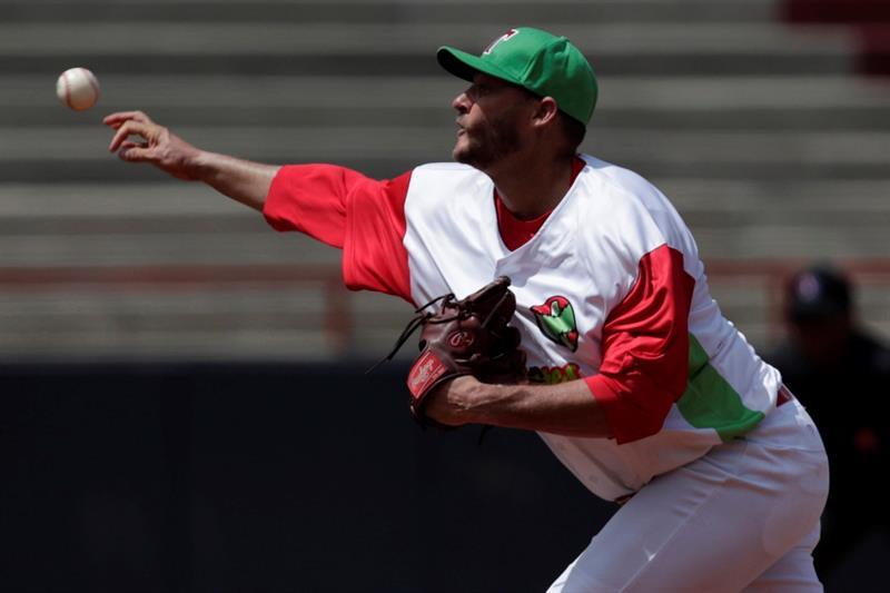 Lázaro Blanco fue el mejor lanzador de la Serie del Caribe y miembro indiscutible del Todos Estrellas. Foto: Bienvenido Velasco / EFE