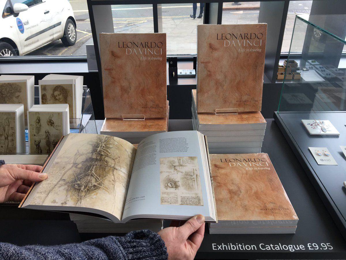El libro Leonardo da Vinci: A Closer Look, fue presentado ayer 1 de febrero.