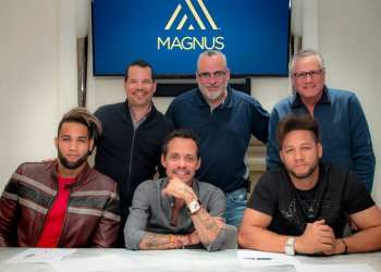 Los hermanos Gurriel firmaron con la agencia de representación de atletas Magnus Sport. Foto: Tomada de Magnus Media