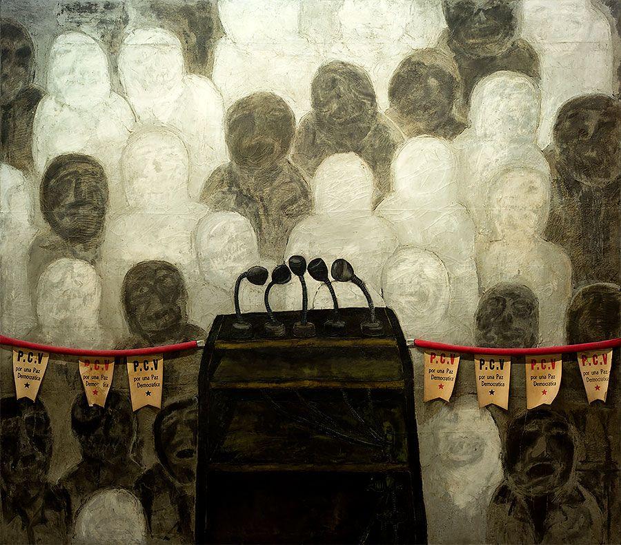 Antonia Eiriz, Por una paz democrática. Foto: Museo Nacional de Bellas Artes, Cuba.