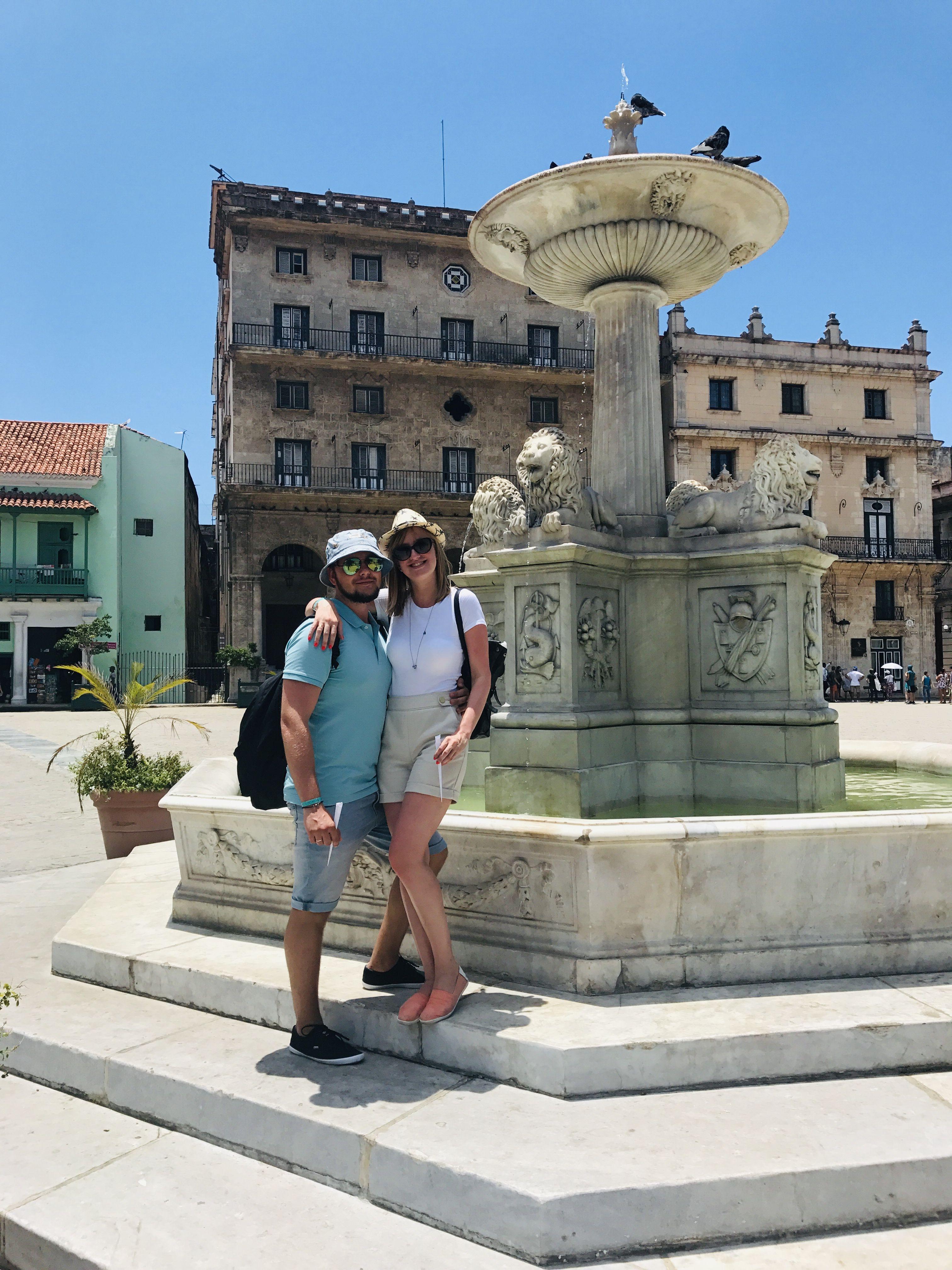 """""""Para ver la verdadera Cuba fuimos a La Habana"""", cuenta Masha Kárpova."""