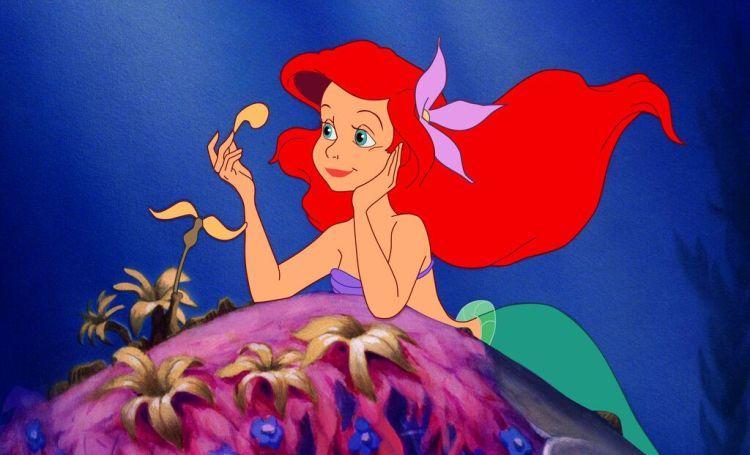 La Sirenita animada celebra este año su 30mo aniversario. (Disney vía AP).