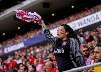 Más de 60 000 personas se dieron cita en el Wanda Metropolitano para disfrutar el duelo de las chicas del Atlético de Madrid y el Barcelona. Foto: Tomada de Marca