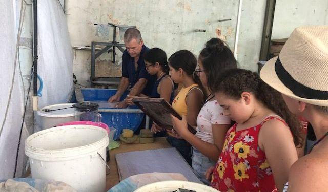 Integrantes del Proyecto Dale durante su viaje a Cuba. Foto: Cortesía de Maday Martínez.