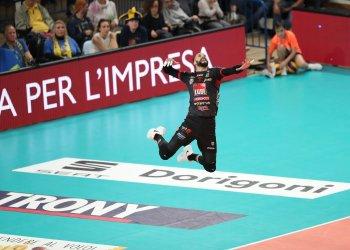 Osmany Juantorena lideró al Lube Civitanova en su camino a la final. Foto: Tomada de Lega Volley