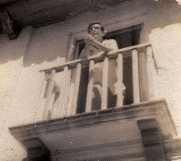 Lichi en el estudio de Arroyo Naranjo en 1968.