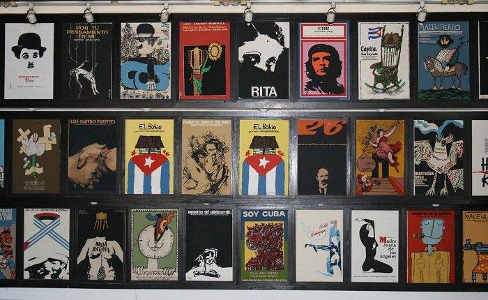 La segunda Bienal de Diseño de La Habana resaltará la historia y trascendencia artística del cartel de cine cubano. Foto: ICAIC / Archivo.