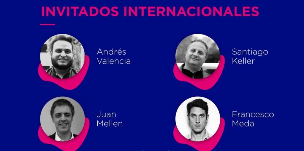 Algunos invitados extranjeros a la segunda Bienal de Diseño de La Habana.