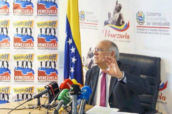 Mario Isea, embajador de Venezuela en España. Foto: Ángel Navarrete/El Mundo.