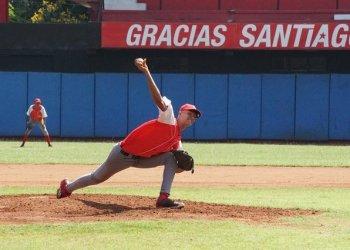 El pitcheo de Santiago de Cuba en el torneo Sub-23 ha dominado por completo en el flojo grupo del extremo más oriental. Foto: Jorge Luis Guibert