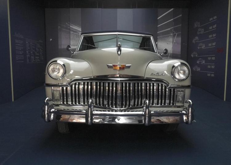 De Soto 1949 donado al Museo del Automóvil en La Habana Vieja. Foto: Habana Radio.