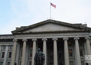Departamento del Tesoro de Estados Unidos. Foto: Marita Pérez Díaz.