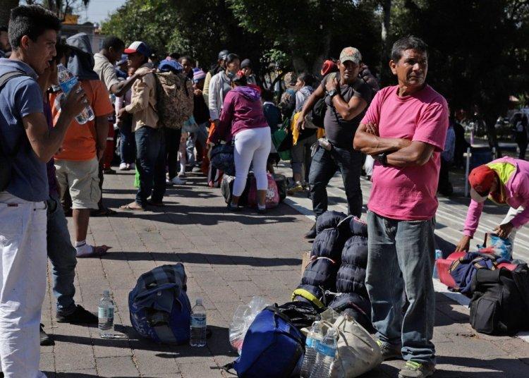 Migrantes en Guatemala. Foto: republica.gt / Archivo.