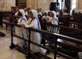 Ceremonia religiosa en honor al fallecido cardenal Jaime Ortega en la Catedral de La Habana, el viernes 26 de julio de 2019. Foto: Otmaro Rodríguez.
