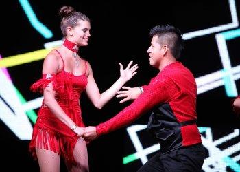 Una pareja de baile durante el Congreso de Salsa de Miami. Foto: Sun Sentinel / Archivo.