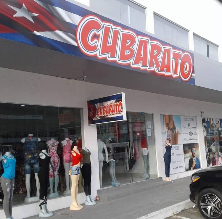 La tienda Cubarato, una de las tantas especialmente dirigidas a cubanos en la Zona Libre del Canal de Panamá. Foto: @cubaratoZL / Facebook.
