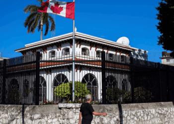Embajada de Canadá en Cuba. Foto: AP/ Archivo.