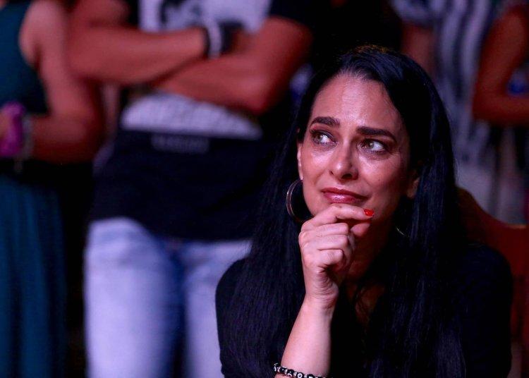 La actriz cubana Jacqueline Arenal en el Festival de Cine de Gibara. Foto: Gabriel Guerra Bianchini / Facebook / Cubadebate.