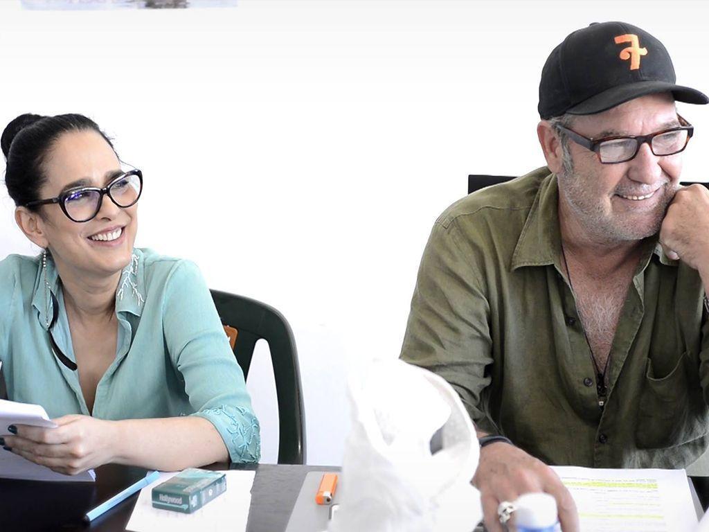 Los actores cubanos Jacqueline Arenal y Jorge Perugorría. Foto: Jau Films.