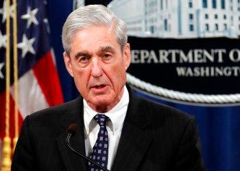 El ex fiscal especial Robert Mueller en el Departamento de Justicia en Washington el 29 de mayo de 2019. Foto: Carolyn Kaster/AP/Archivo.
