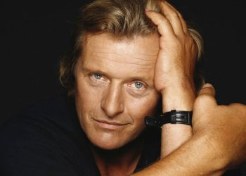 Rutger Hauer en 1990. Foto: Terry O'Neill/Iconic Images/Getty Images.