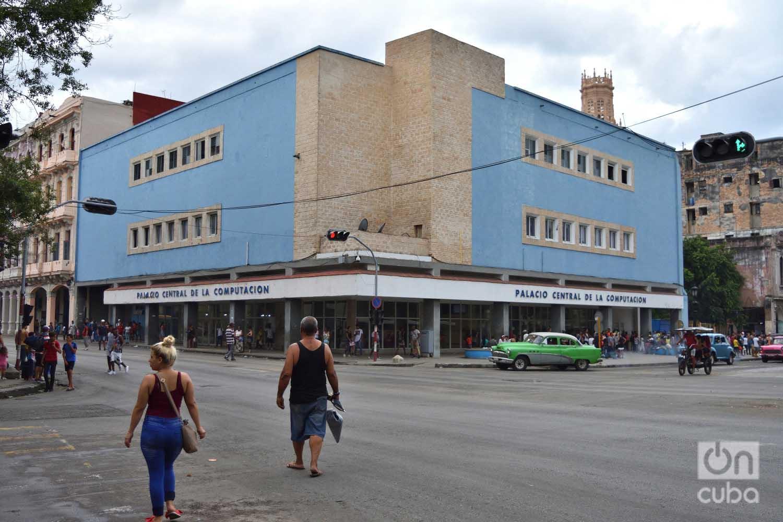 Palacio Central de la Computacion, antigua Sears. Foto: Otmaro Rodríguez.