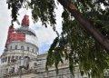 Develación de la cúpula del Capitolio de La Habana, el 30 de agosto de 2019. Foto: Otmaro Rodríguez.