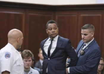 Cuba Gooding Jr. se declaró inocente. Foto: Alex Tabak/AP.