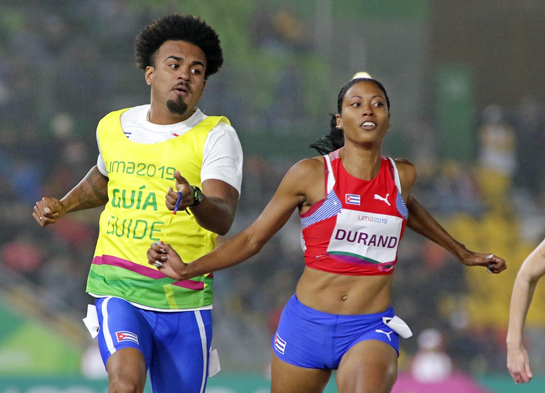 Omara Durand brilló en los Parapanamericanos de Lima 2019 con tres títulos en 100, 200 y 400 metros. Foto: lima2019.pe