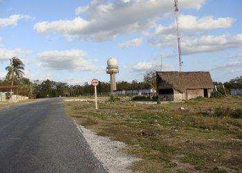Radar de La Bajada Foto: César O. Gómez López.