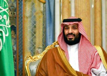 En esta imagen del 18 de septiembre de 2019, el príncipe heredero al trono de Arabia Saudí, Mohammed bin Salman durante una reunión con el secretario de Estado de Estados Unidos Mike Pompeo en Yidda, Arabia Saudí. Foto: Mandel Ngan/Pool Photo via AP.  Archivo.