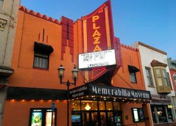 Plaza Cinema in Ottawa, Kansas. (Scott Zaremba via AP)