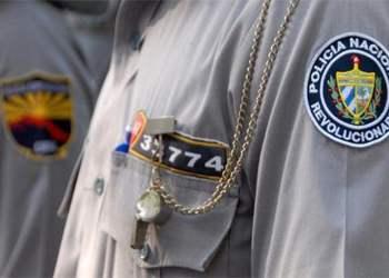 Policía cubana. Foto: Juventud Rebelde.