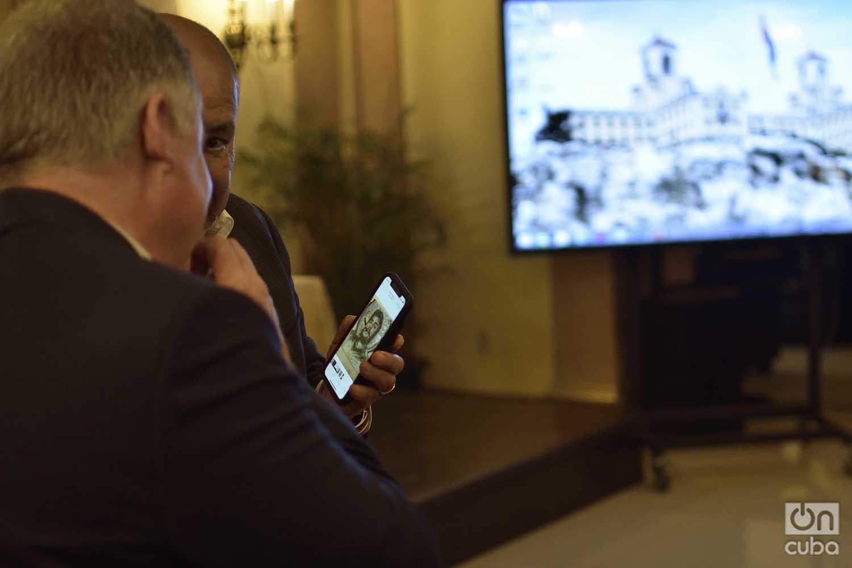 Foro de Negocios entre empresas del sector de la informática y las comunicaciones de Cuba y EE.UU. en el Hotel Nacional de Cuba, en La Habana, el 4 de septiembre de 2019 . Foto: Otmaro Rodríguez.