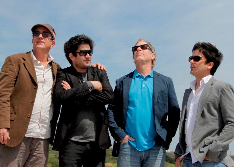 La familia López-Nussa. De izquierda a derecha: Ruy, Harold, Ernán y Ruy Adrián. Foto: cubanbridge.wordpress.com