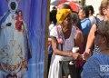 Los cubanos celebran la procesión de la Virgen de Regla en La Habana, el 7 de septiembre de 2019. Foto: Otmaro Rodríguez.